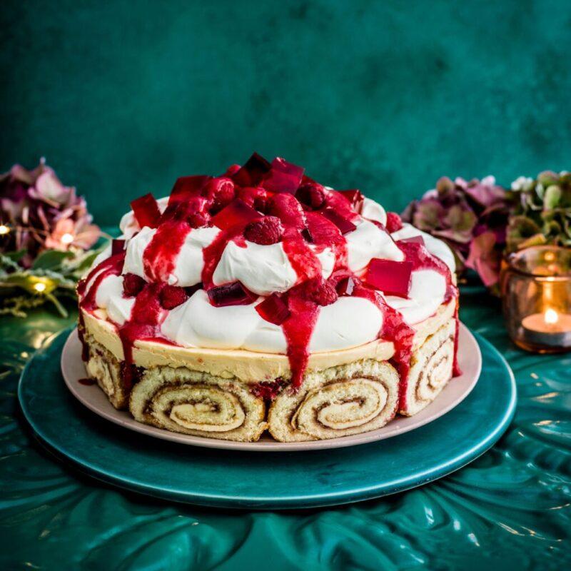 Berry Cheesecake Tiffle Reteta cu Sherry