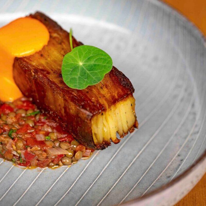 Rețetă Pilgrim Restaurant pentru Terrina de cartofi cu linte