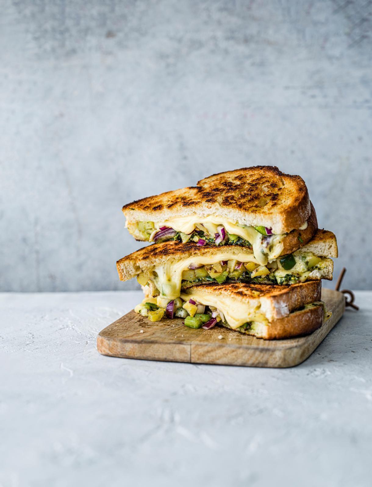 Toastie cu brânză Chilli Bombay