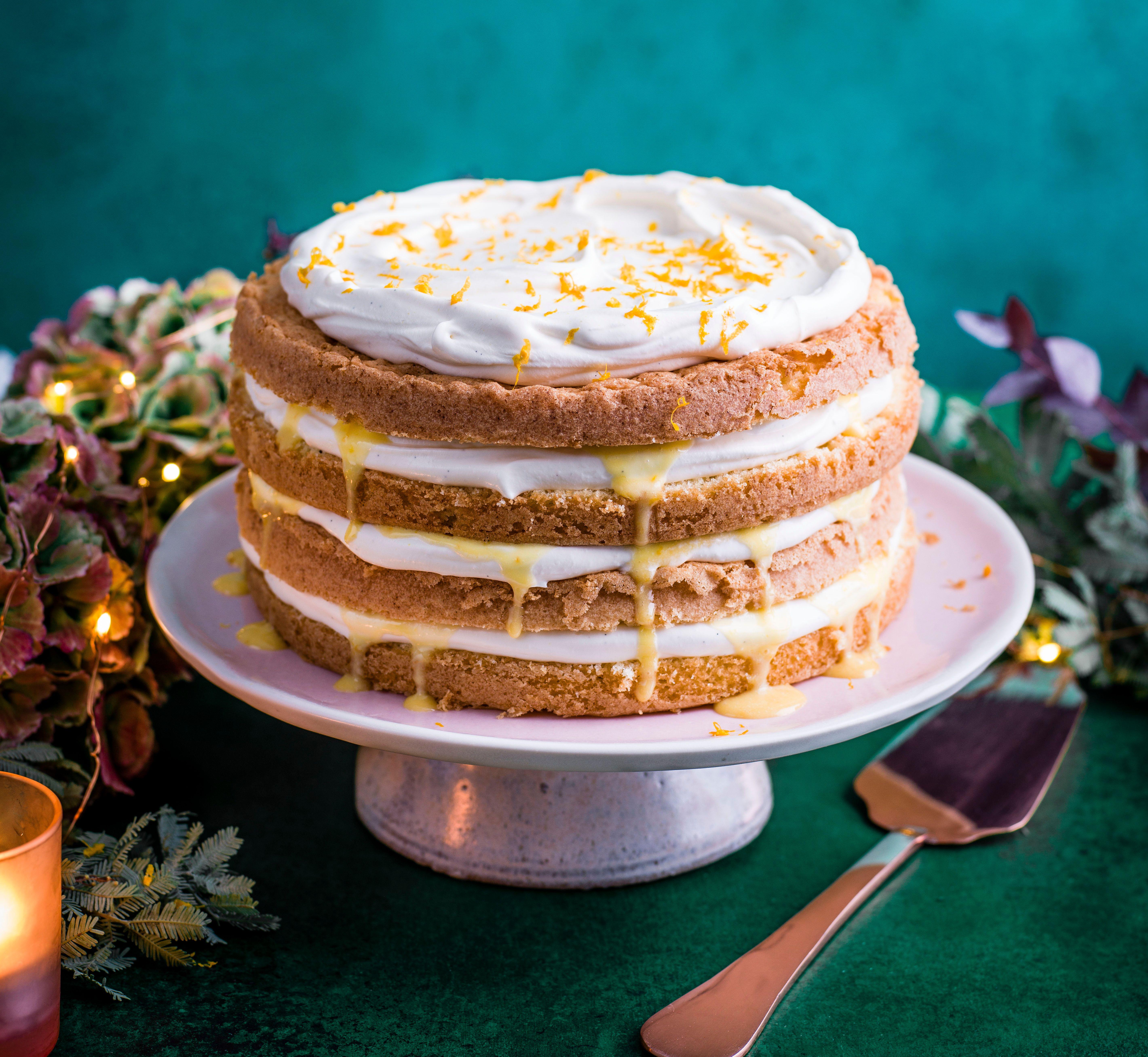 Rețetă de tort cu clementină