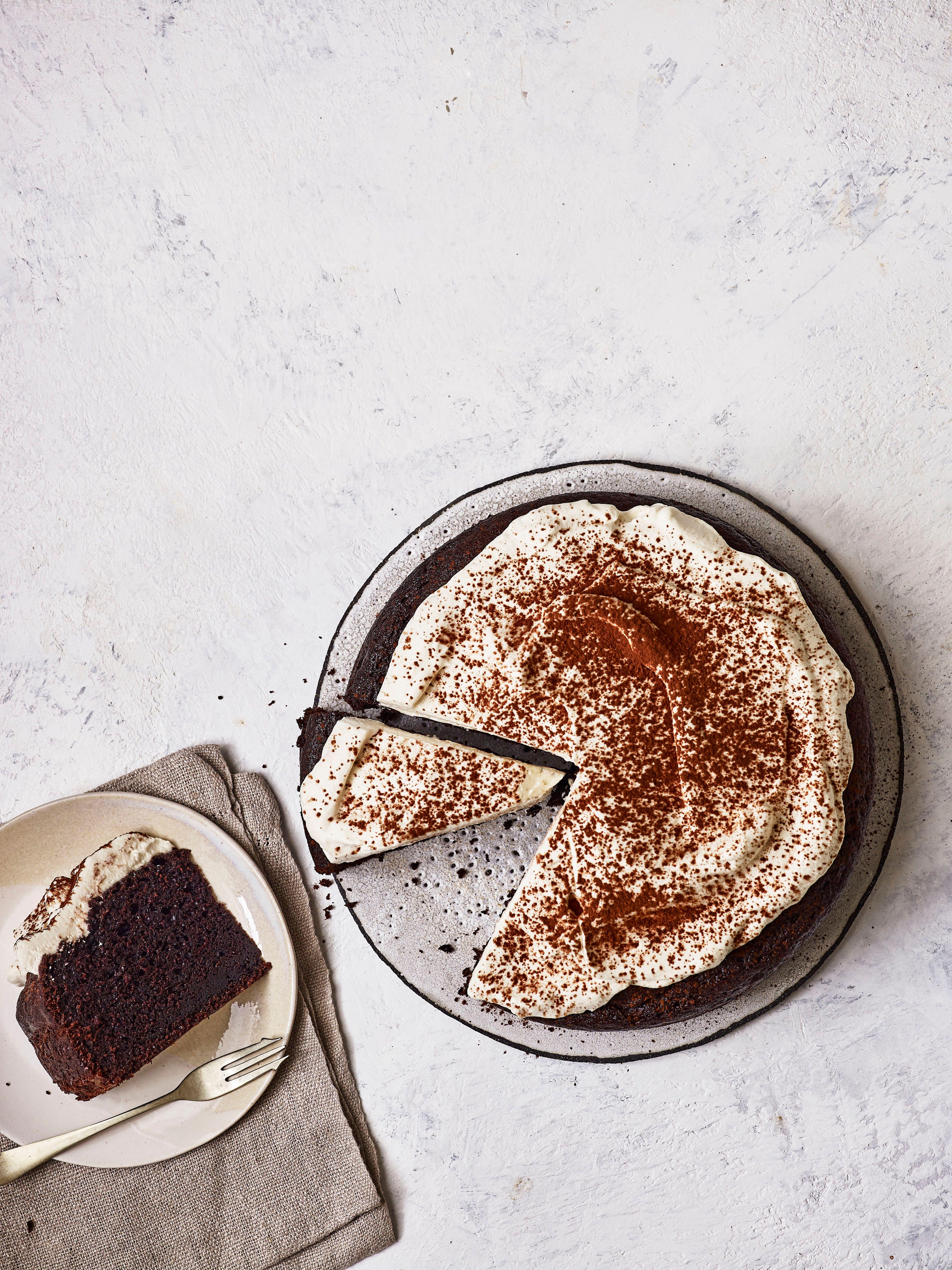 Rețetă de tort cu cafea irlandeză