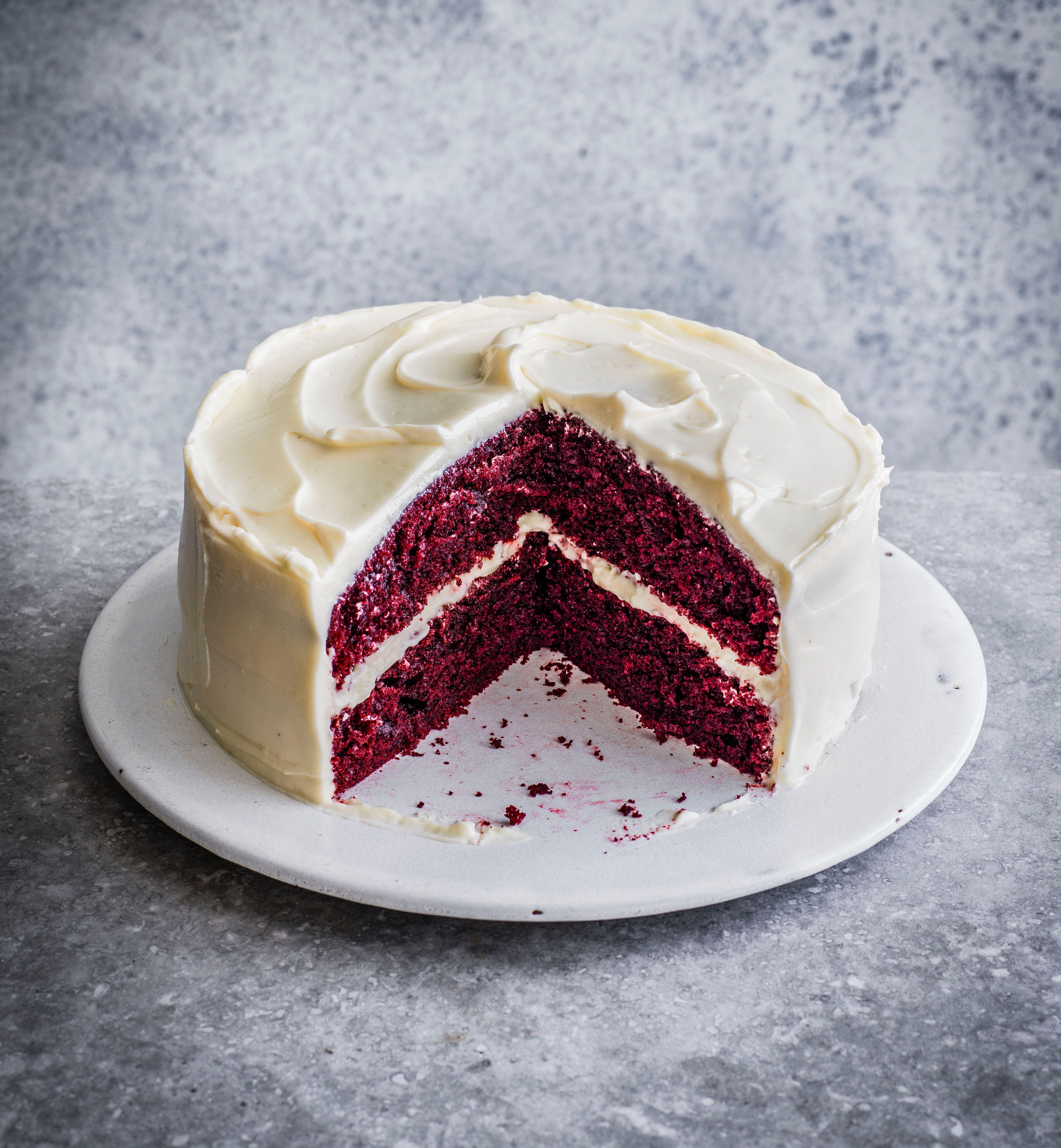 Rețetă de tort de catifea roșie