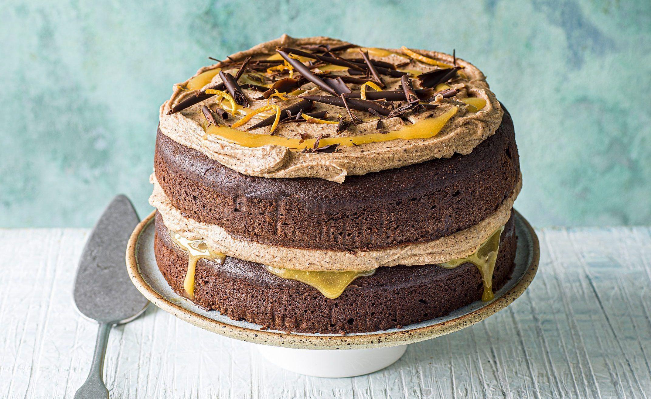 Rețetă de tort cu portocale de ciocolată