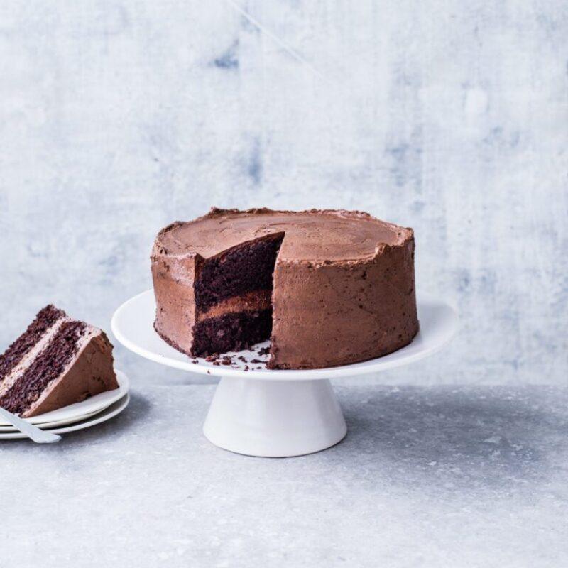 Rețetă de tort cu ciocolată vegană