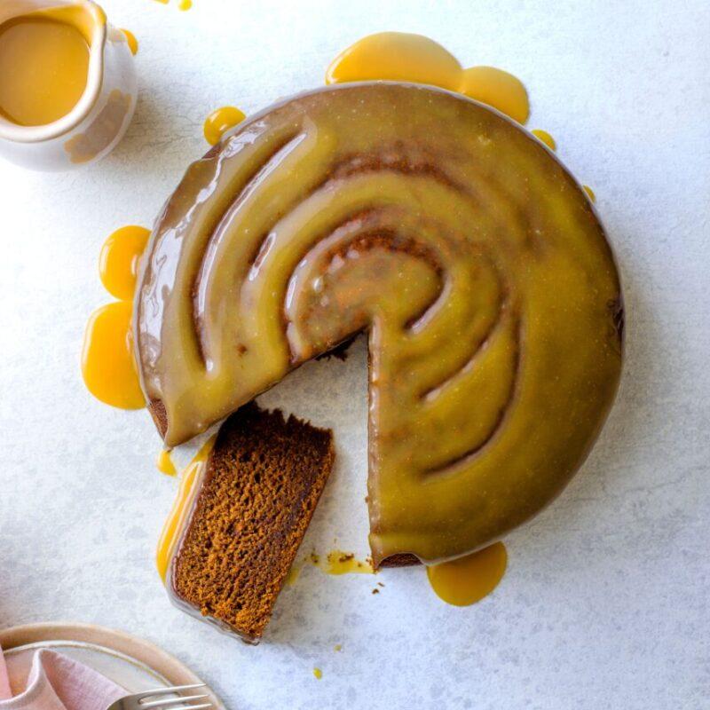 Tort cu miere sărată cu curmale