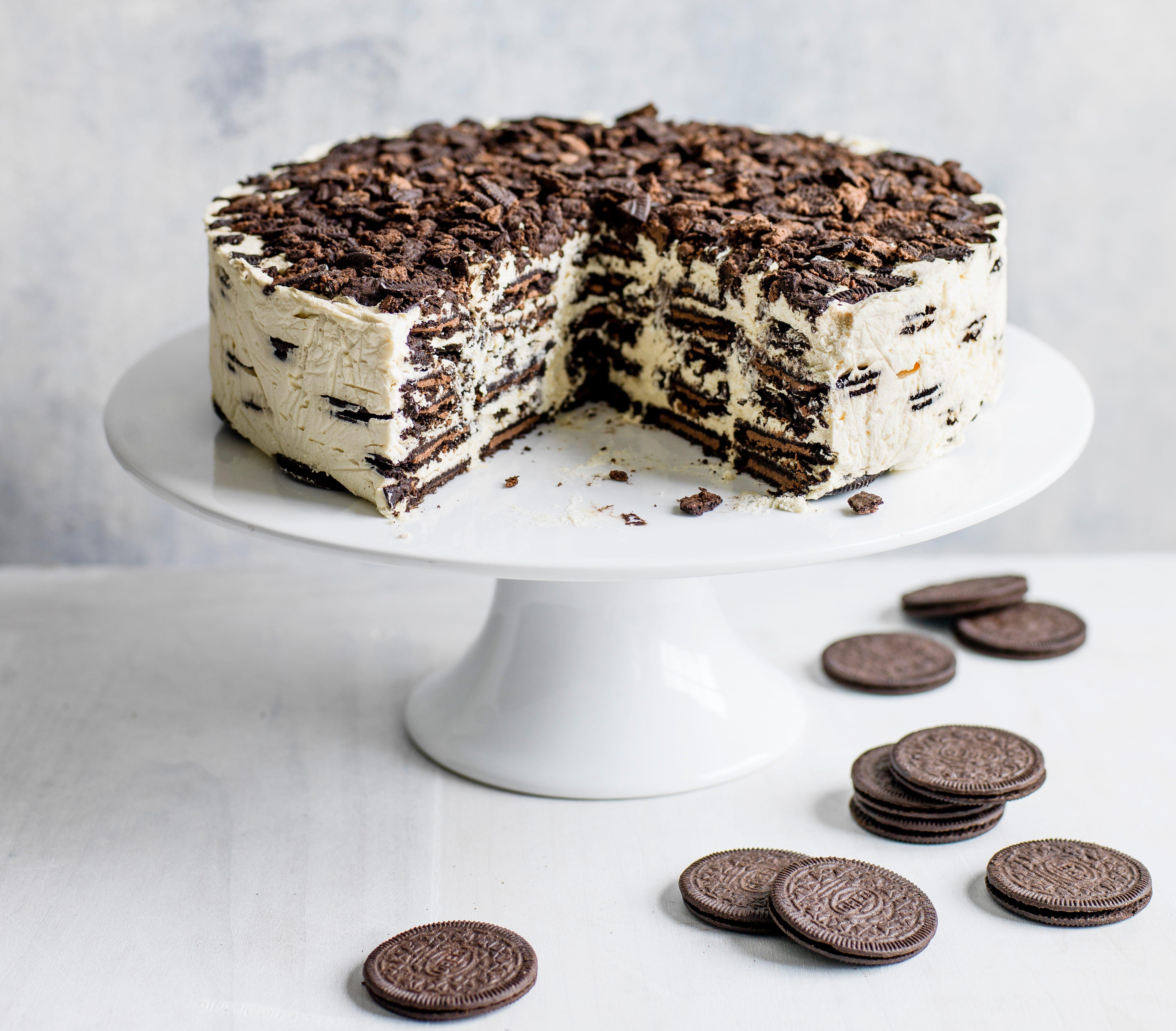 Oreo Baileys Icebox Rețetă de tort