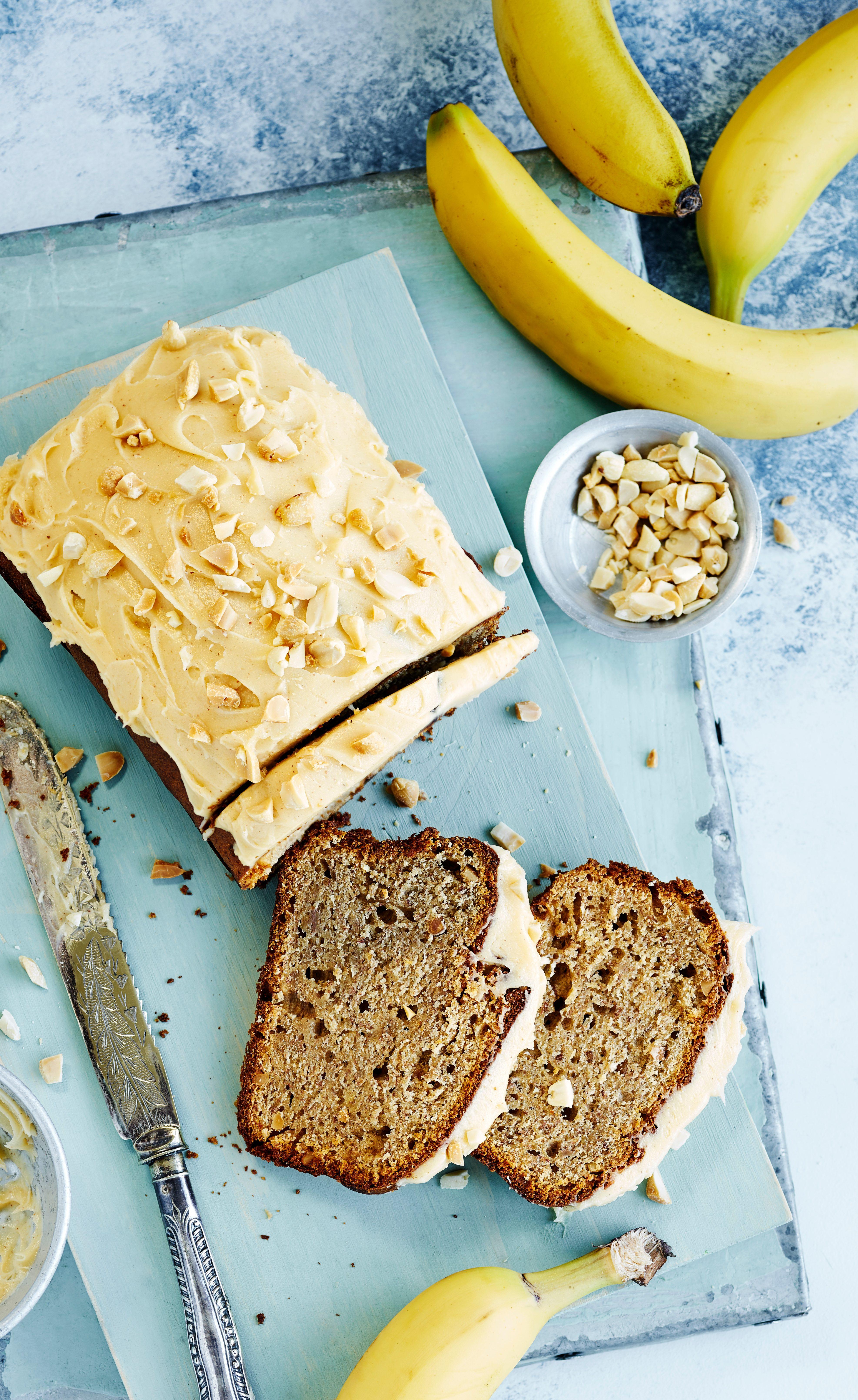 Rețetă de pâine cu banane cu unt de arahide