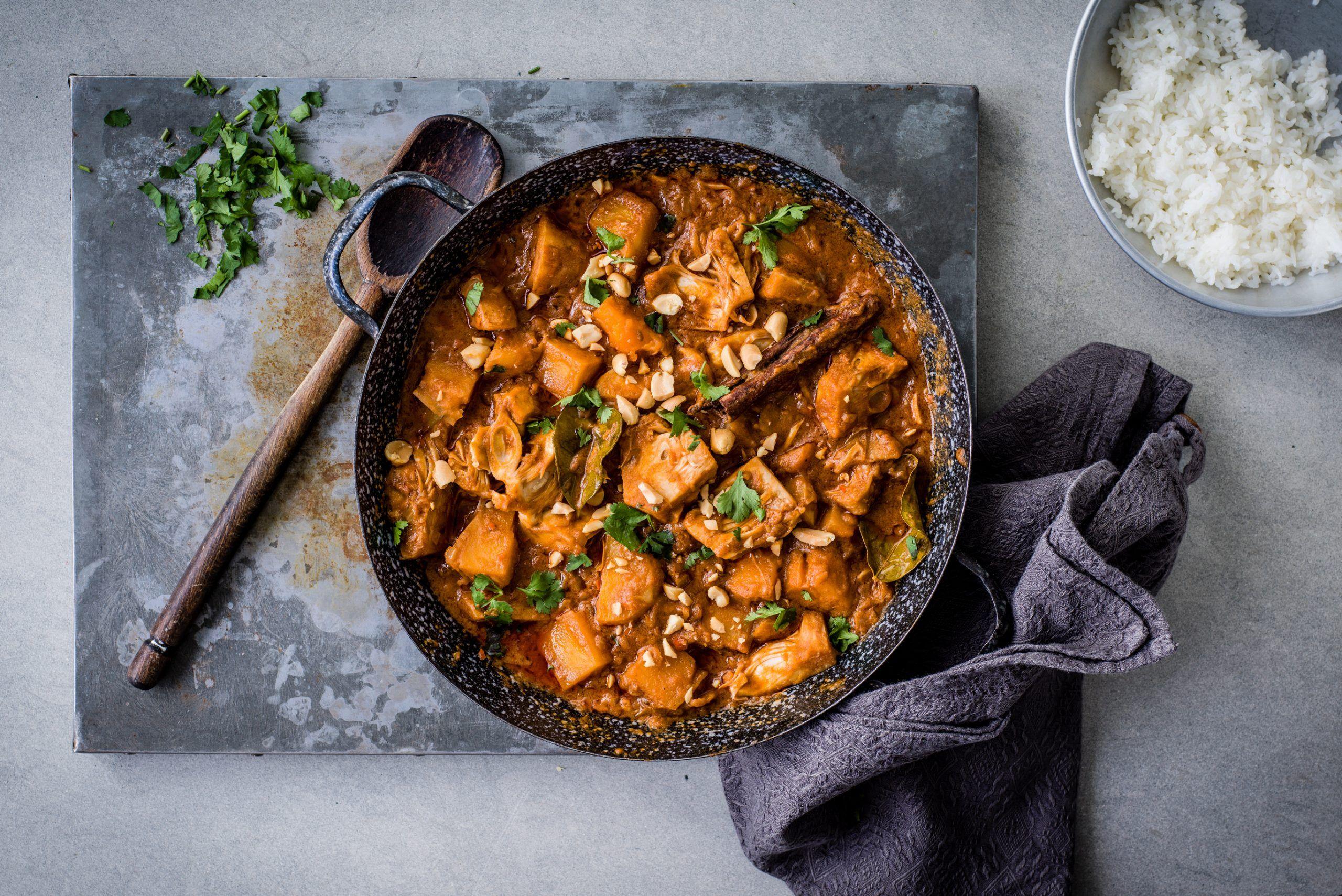 Rețetă Vegan Jackfruit Curry