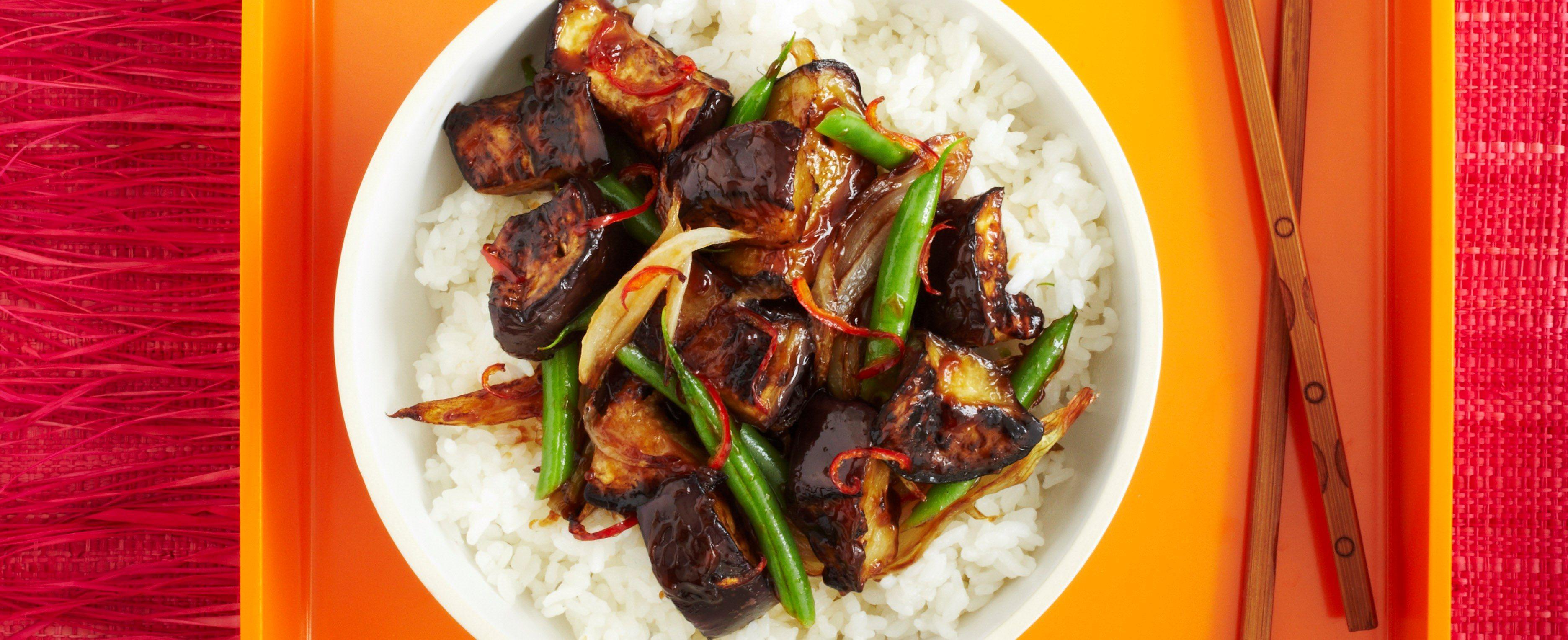 Vinete fierbinți și acre cu rețetă de orez lipicios